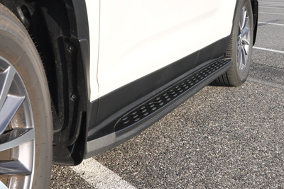 Euro Black Running Boards