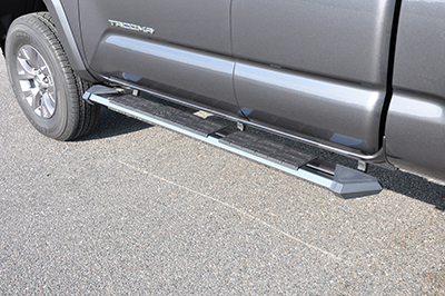 Stealth Stainless Steel Running Boards