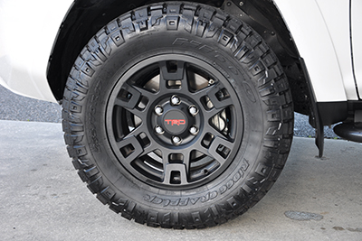 "17"" TRD Pro Alloys w/All-Terrain Tire Upgrade"