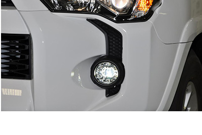 2-in-1 LED Projector Fog Lights w/LED DTRs