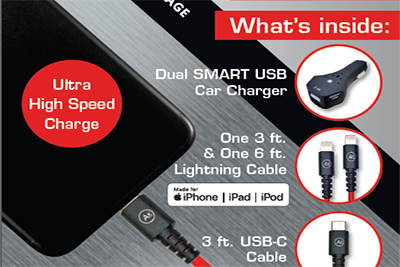 Phone Cable & Charge Package