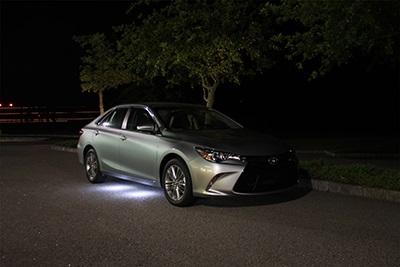 LED Under-car Puddle Illumination