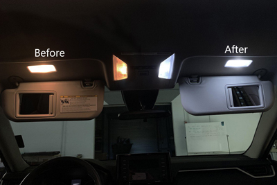 LED Interior Light Upgrade