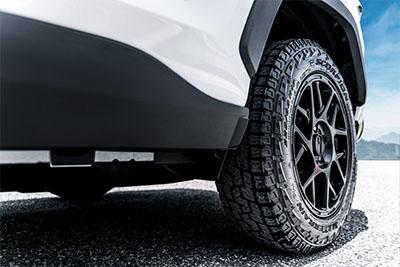 "17"" KMC Bully Black Wheels with Pirelli Tires"