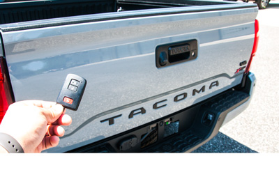 Tailgate Power Lock