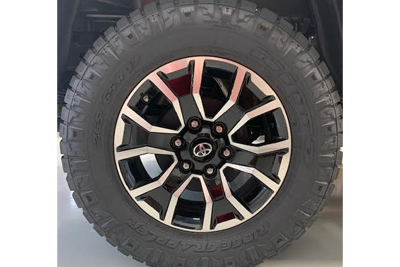 "17"" All-Terrain Tire Upgrade"
