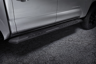 Stealth Black Running Boards