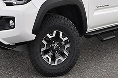 "16"" All-Terrain Tire Upgrade"
