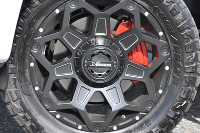 "20"" Ultra Clash Wheel w/All-Terrain Tire Upgrade"