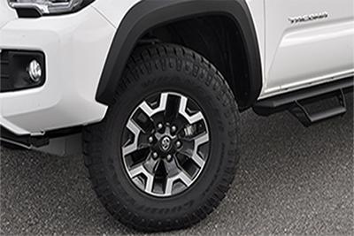 """16"""" All-Terrain Tire Upgrade"""