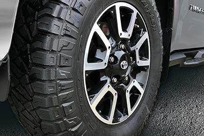 """18"""" All-Terrain Tire Upgrade"""