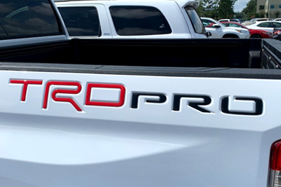 TRD Pro and Tailgate Insert Package