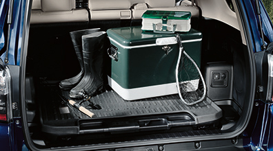 All Weather Floor Mats with All Weather Cargo Tray