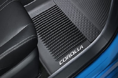 All Weather Floor Mats with All Weather Trunk Mat