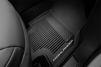 All Weather Floor Mats with All Weather Cargo Mat