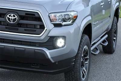 2 in 1 LED Projector Fog Lights w/LED Accent Light