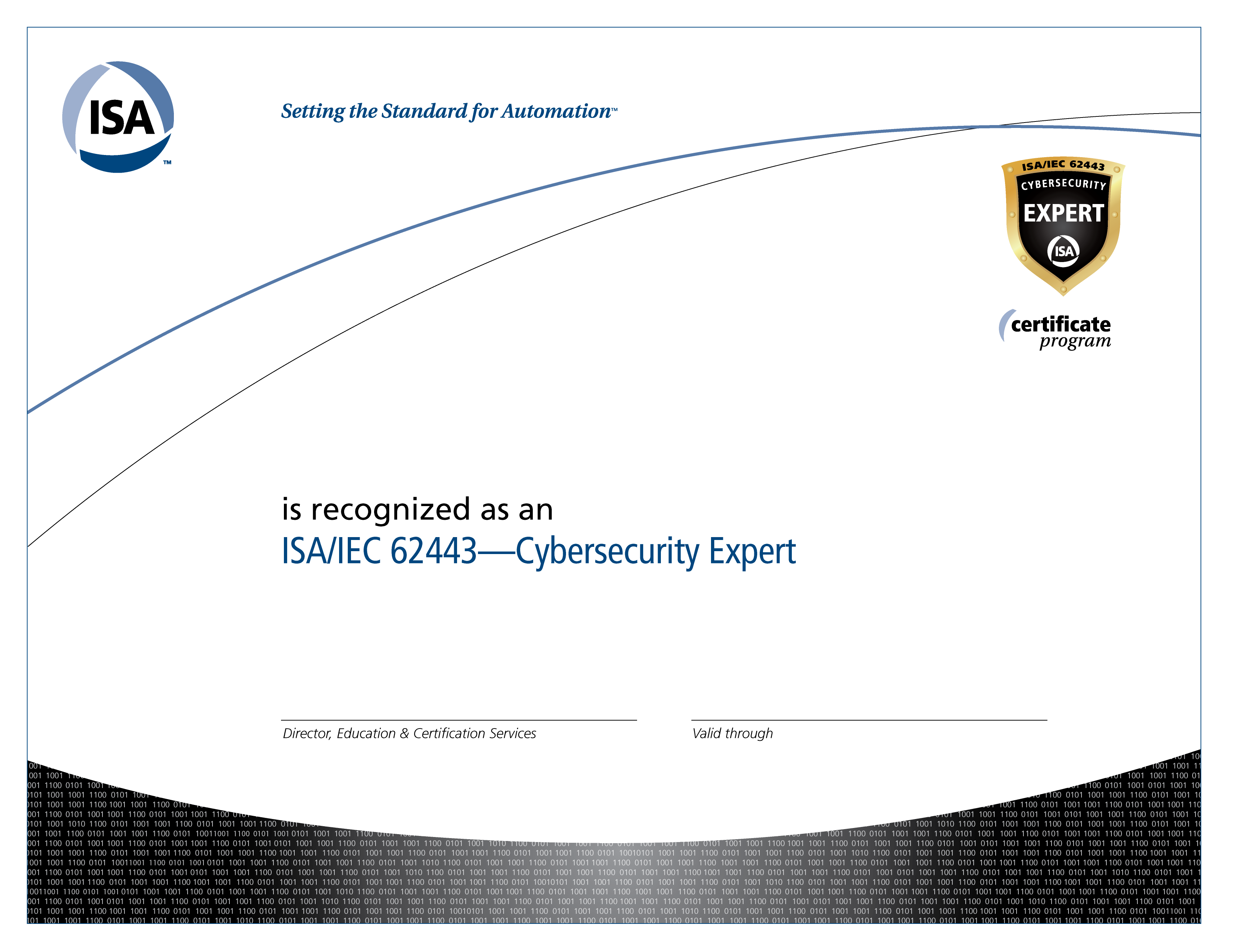 isa credential certification training certifications 2022