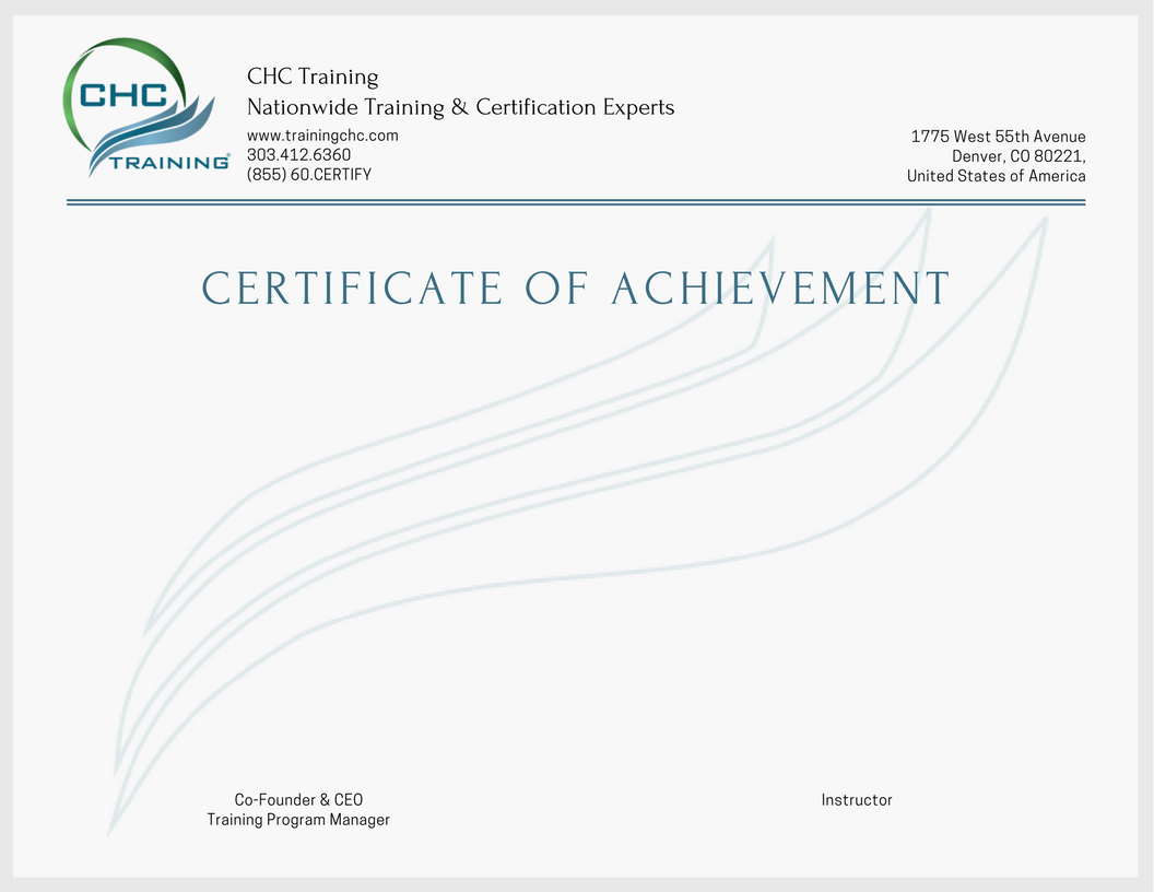 training certificate competent chc templates accredible scaffolds