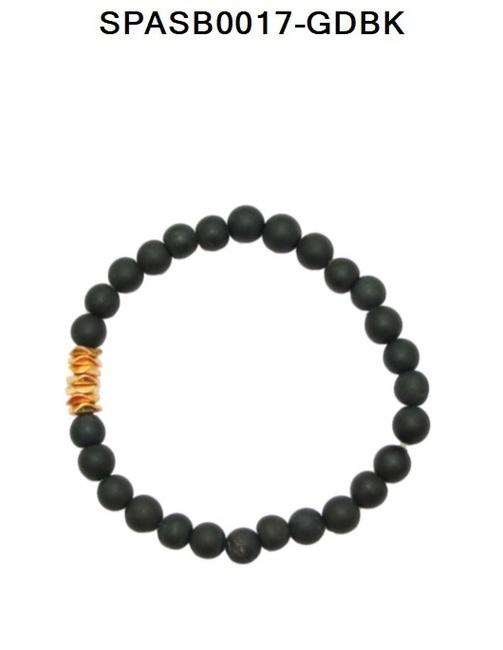 Druzy Stretch Bracelet 6mm