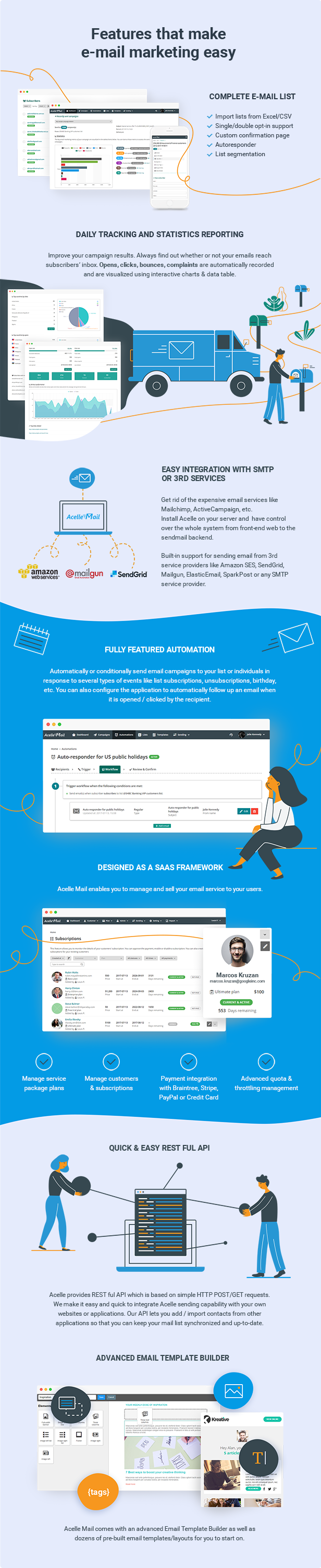 Acelle Email Marketing Web Application - 6