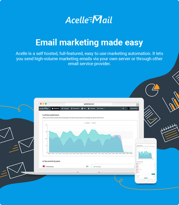 Acelle Email Marketing Web Application - 1