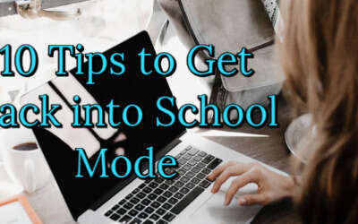 School Mode Tips Graphic For Blog