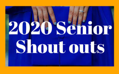 Senior Shoutouts 2020 Blog Image Day 1