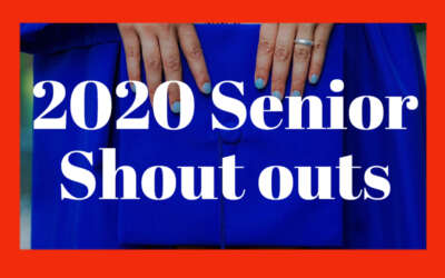 Senior Shoutouts 2020 Blog Image Day 2