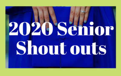 Senior Shoutouts 2020 Blog Image Day 3