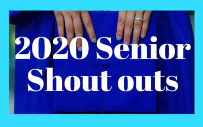 Senior Shoutouts 2020 Blog Image Day 4