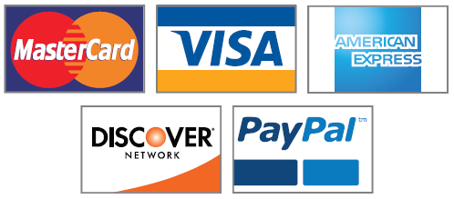 Payment Cards Accepted (and more)