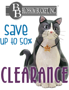save when you shop blossom bucket figurine sale