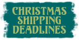Dezign Zoo Animal Emporium Christmas shipping deadlines