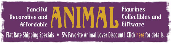 animal figurines flat rate shipping specials