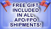 APO FPO Free Gift