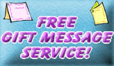 Free Gift Message Service