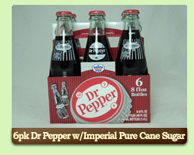 Dr Pepper w/Imperial Pure Cane Sugar