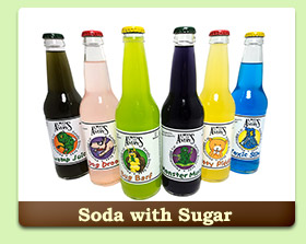 soda with sugar