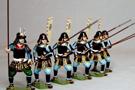 monarch regalia samurais