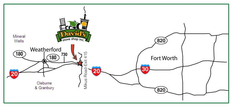 David's Stove Shop Location