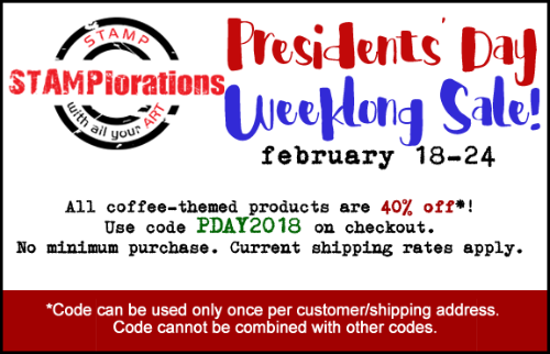 Presidents' Day Weeklong Sale!