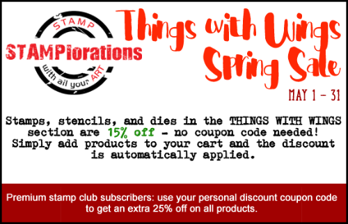 Things with Wings Spring Sale!