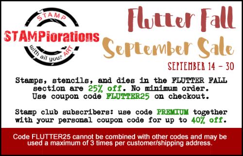 Flutter Fall September Sale!