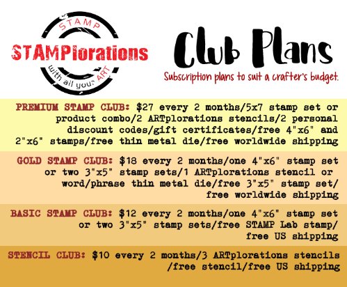 Join the STAMPlorations Club!
