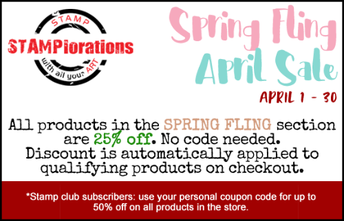 Spring Fling April Sale!