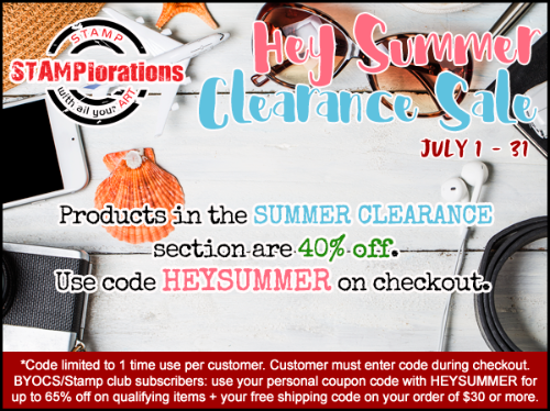 HEY SUMMER Clearance Sale!