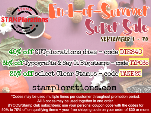 End-of-Summer Super Sale!