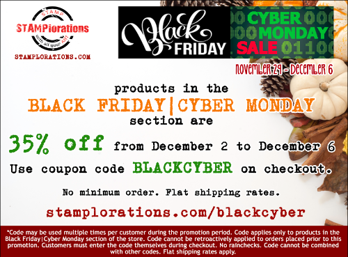 Black Friday|Cyber Monday Sale!