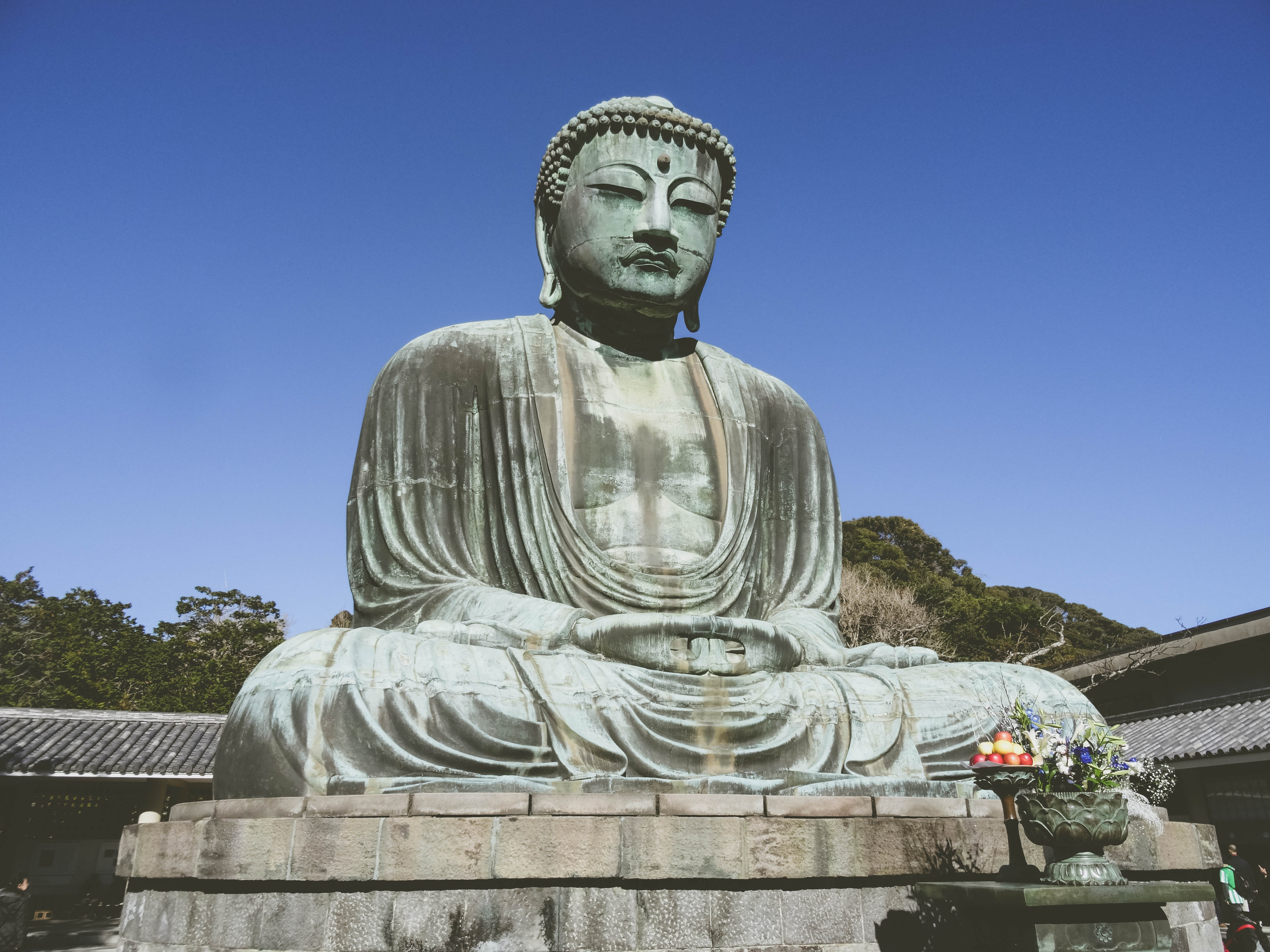 Image for blog article: Le gros Bouddha de Kamakura- The Big Buddha from Kamakura