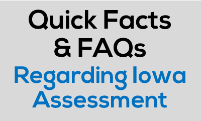 FAQs for Iowa Assessments